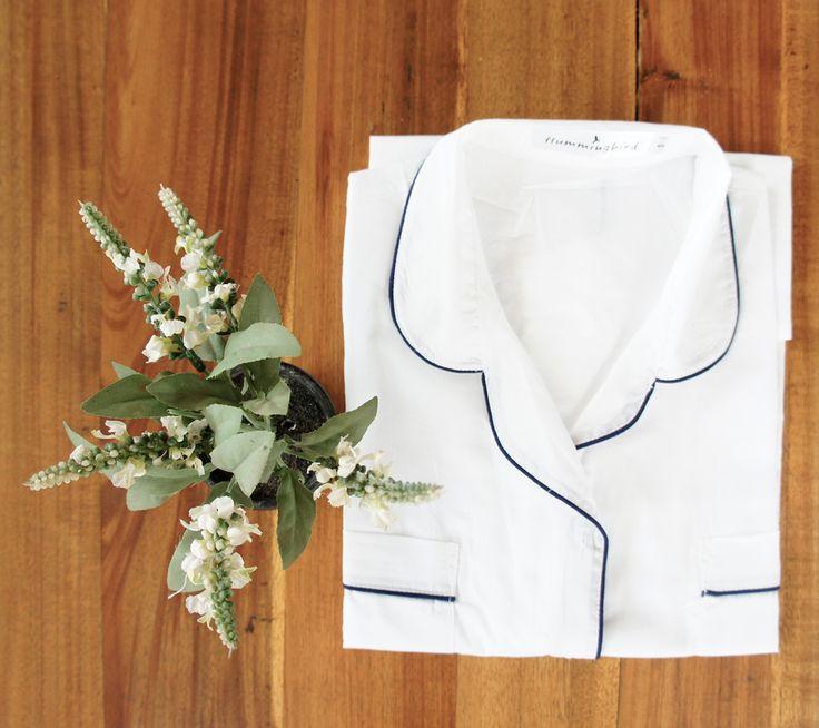 Classic Short-Sleeve Pajama Top