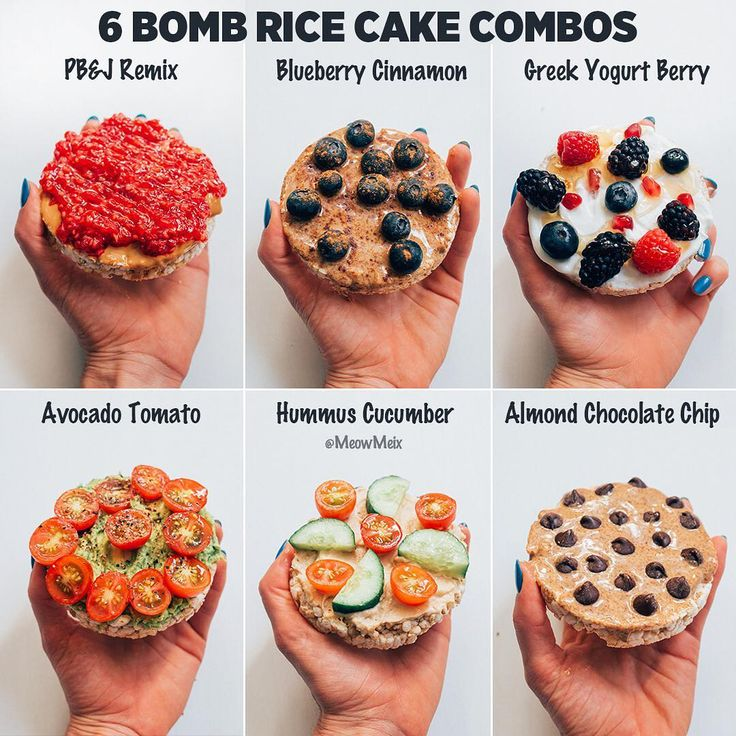 40 Rice Cake Topping Ideas Languageen: I'm All About Those Drooling Worthy Rice Cake Combos