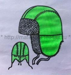 Мастер-класс: Моделирование шапки-ушанки — Шкатулка