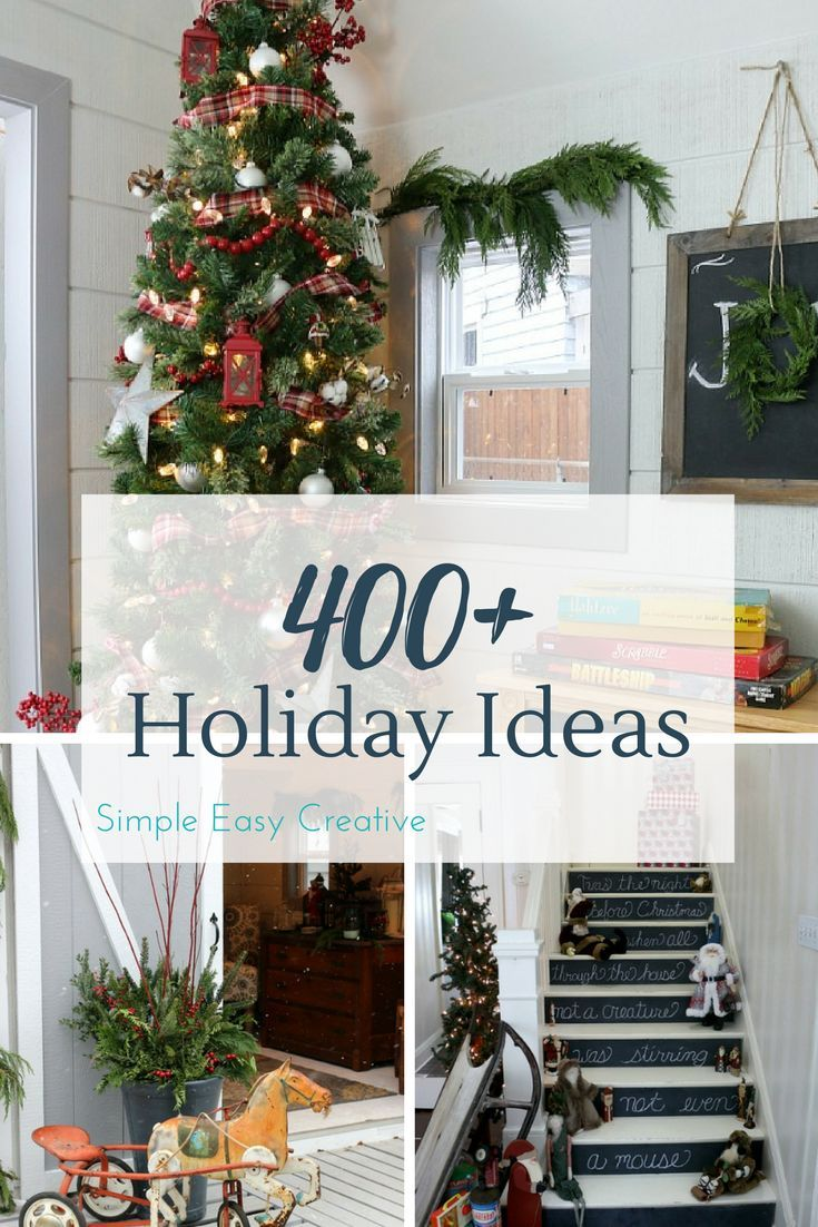454 best Christmas Decorating Ideas images by Simple Easy Creative ...