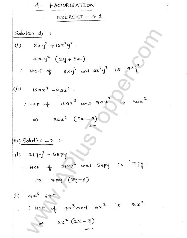 Pin on ML Aggarwal Class 9 Solutions for ICSE Maths