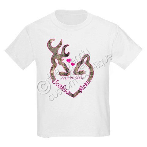 Browning Realtree Camo  Wedding Shirt Personalized