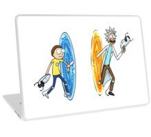 Portals and Rick and Morty definitely belong together and they also belong on your lapto.