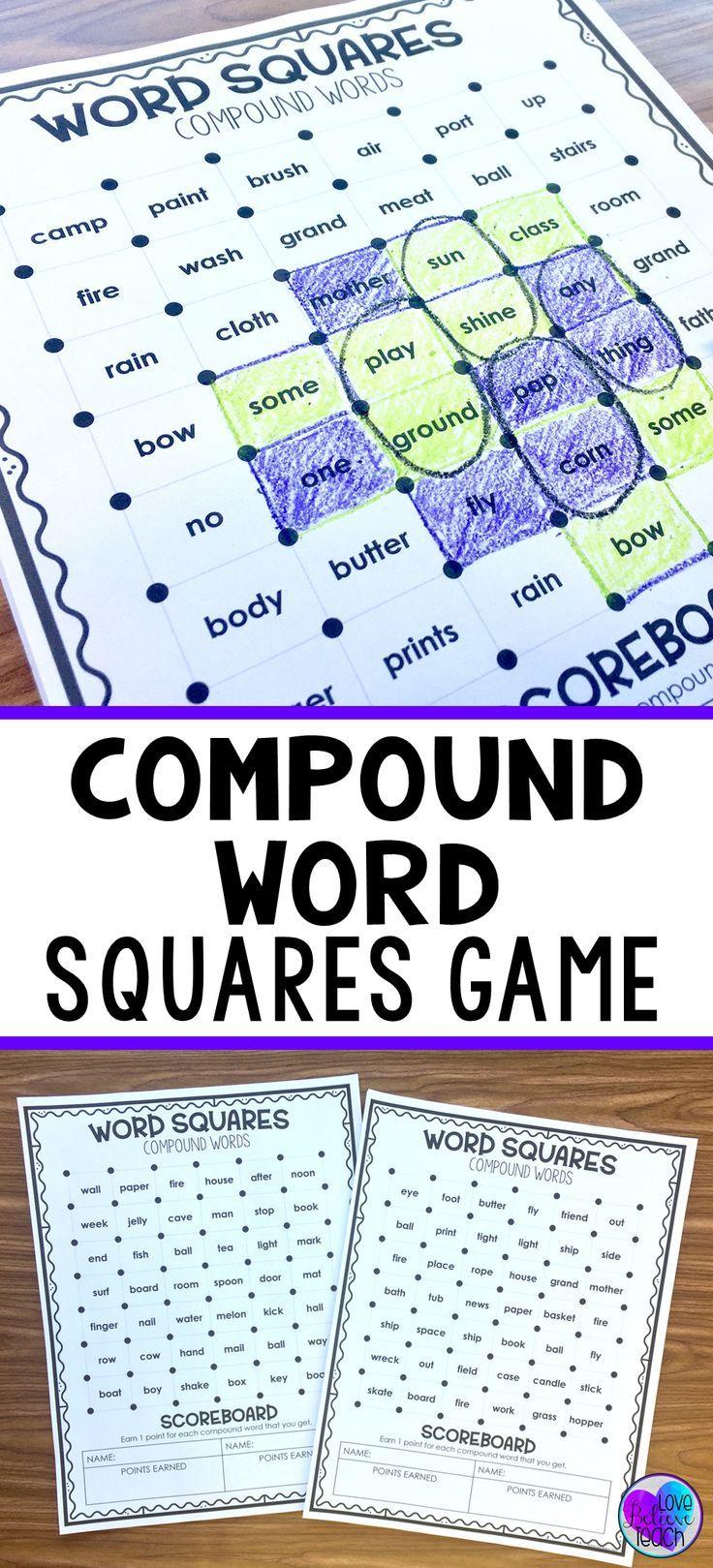 Mejores 226 imágenes de Compound Words en Pinterest   Palabras ...