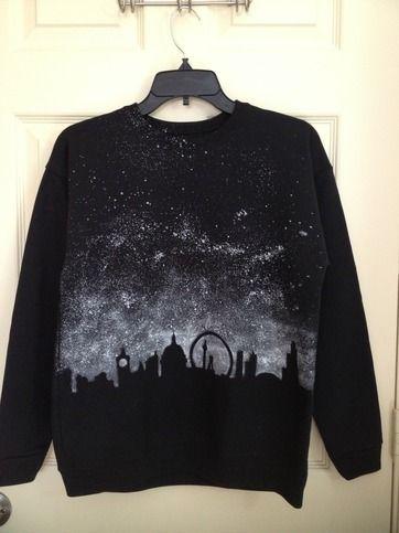 London Skyline Sweater