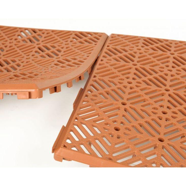 Achat en ligne de caillebotis modulables pas chers - lot de 20 caillebotis modulables - dimensions 30 x 30 - matière : plastique.