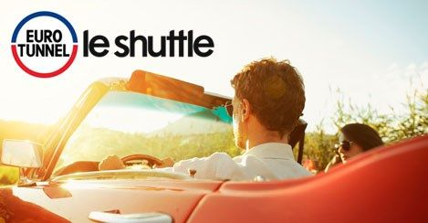 Travel with Eurotunnel le shuttle - Folkestone to Calais in just 35 minutes. Up to 4 shuttles per hour, and direct motorway access. Book now from just £23 per car, each way