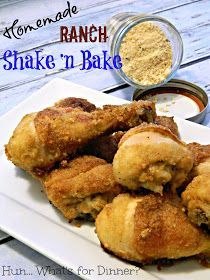 Homemade Ranch Shake 'n Bake