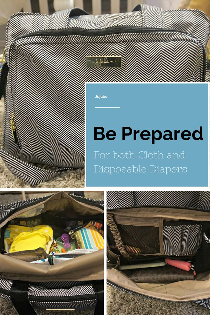 Jujube Be Prepared Review for both cloth & disposable diapers #Jujube #DiaperBag #ClothDiapers