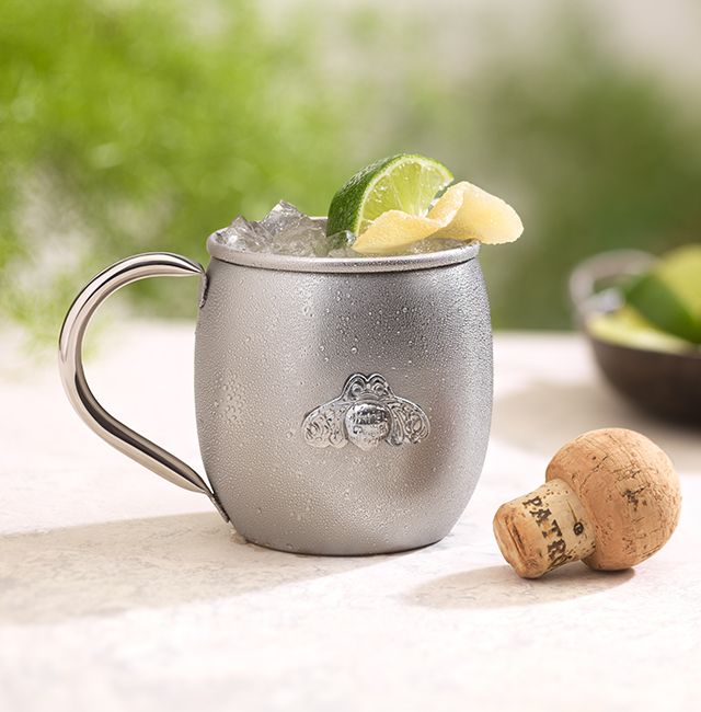 Enjoy this tequila twist on a classic featuring Patrón Reposado - Jalisco Mule