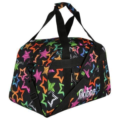 Starry Night Gym Bag #Activewear #Gymwear #FitnessLeggings #Leggings #Tikiboo #SpacePrint #Running #Yoga #Galaxy #GalaxyPrint