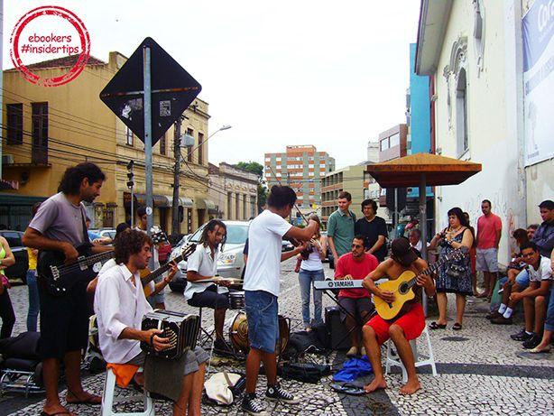 Musik in den Straßen von Curitiba