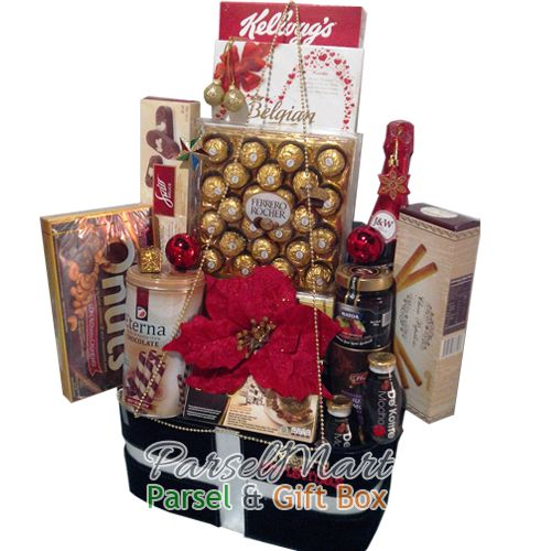 Stay close with your family in Indonesia by send Christmas Hamper. Free Delivery. IDR 1.375.000  See more products at http://parselmart.com
