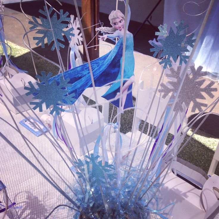 Frozen Centre Pieces by Berry & Flambe
