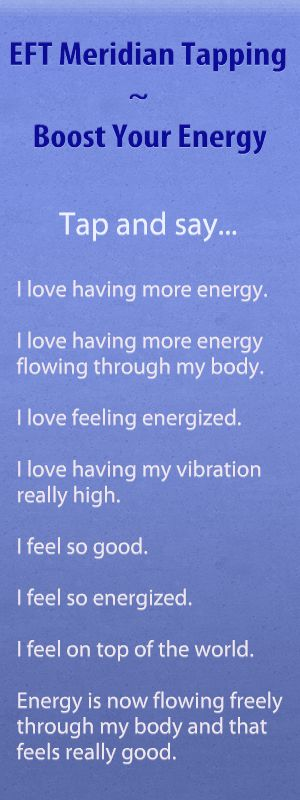 EFT Meridian Tapping Audio – Boost Your Energy | Kathy Atkinson, Success Coach, EFT Tapping Expert, Law of Attraction Specialist, NW Ohio                                                                                                                                                      More