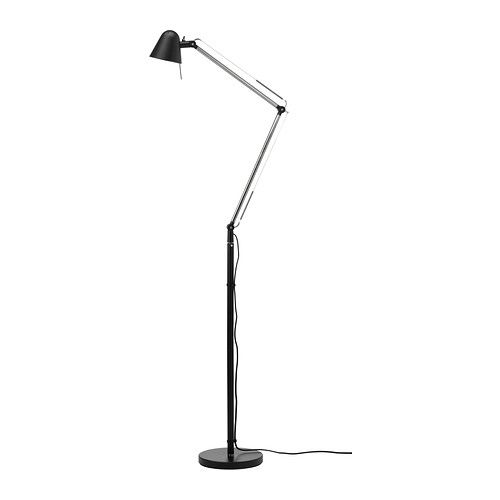 1650h UPPBO Floor/reading lamp IKEA You can easily direct the light where you want it because the lamp arm and head are adjustable. $50