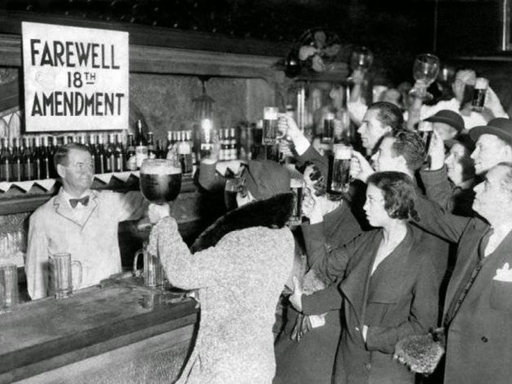 Repeal of Prohibition 21st Amendment | vintage everyday: Old Photos from The Days of Prohibition