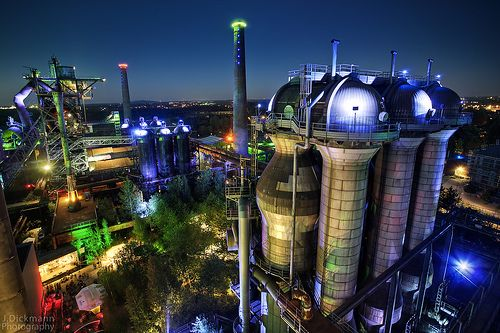 Landschaftspark Nord – This is the City my Mom lives in, it's very industrial. Maybe Duisburg isn't so ugly after all.