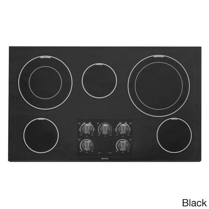 Maytag Heritage Series Stainless Steel 36-inch Smoothtop Electric Cooktop