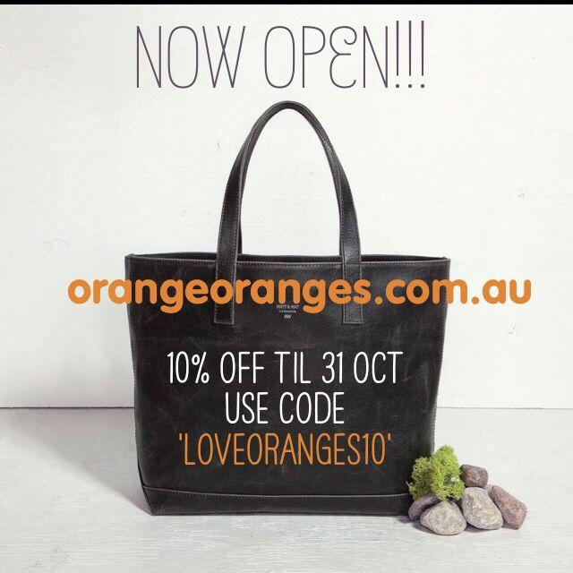 Save 10% off all orders til 31 Oct!