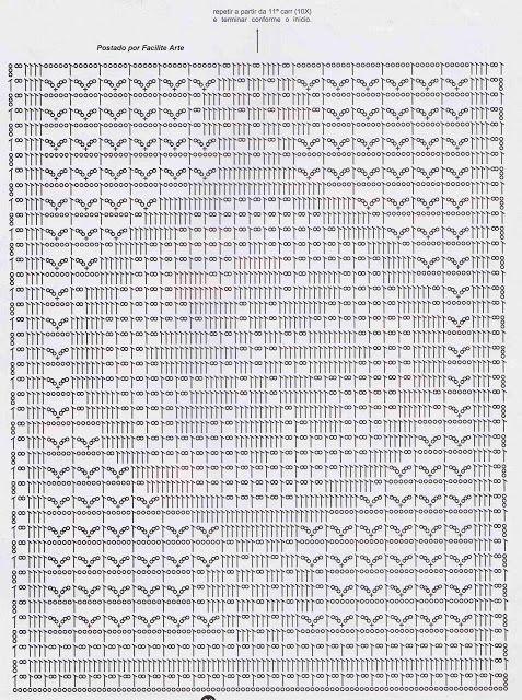 ❀ ❀ Colcha de Crochê 11 - Crua de Tiras com Laços -  /  ❀ ❀ Bedspread of Crocheted 11 - Crua Strips with Rendas -