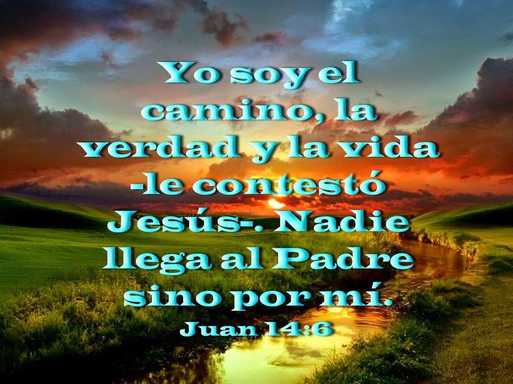 Frases Bíblicas: Biblia, Paisajes Y Maravillas: Juan 14:6