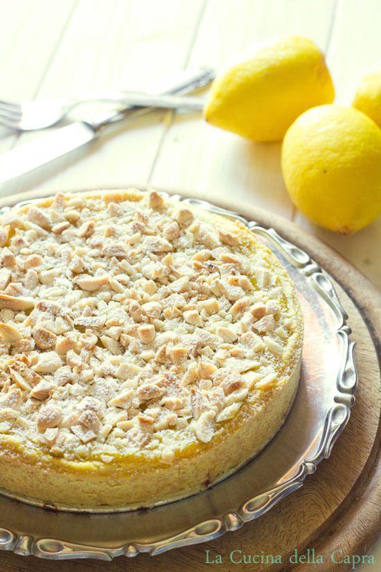 crostata crema limone e pinoli...da provare