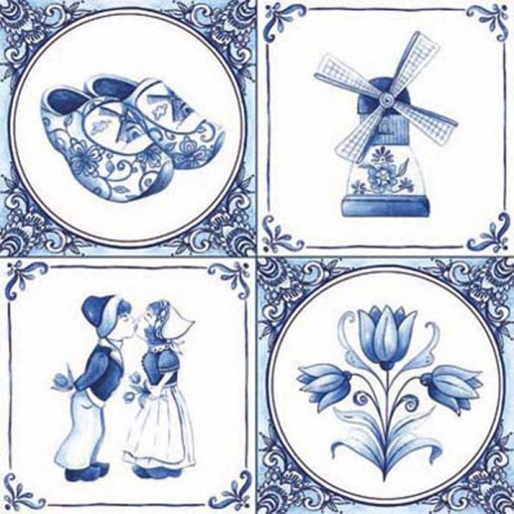 I want to get a tattoo while I'm in the Netherlands...I think the delft tulips (bottom right) would be lovely.