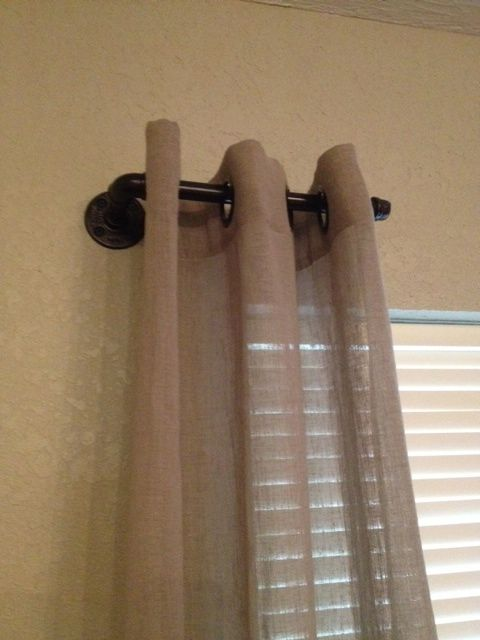 17 Best ideas about Rustic Curtain Rods on Pinterest | Diy curtain ...