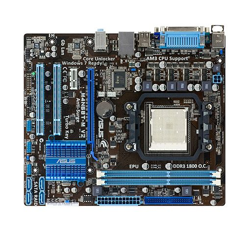 Placa de baza Asus M4A68T-M-V2 sk AM3 #componentesecondhand #componentesh