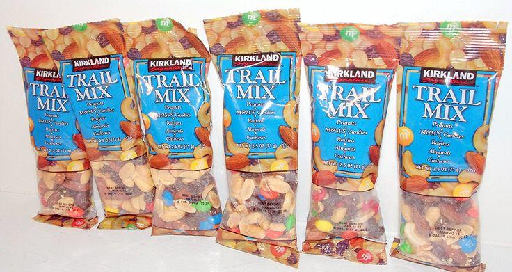 Kirkland Trail Mix Snacks 6 (2.5 Oz.) Packs - Peanuts, MandM's, Raisins, Almonds and Cashews -- Hurry! Check out this great item : Fresh Groceries