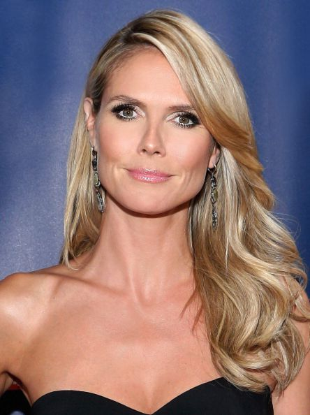 Heidi Klum on America's Got Talent. #Hair by Rebekah Forecast. #Makeup by Linda Hay.