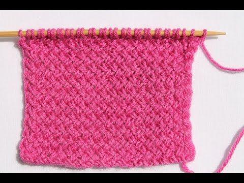 Тканный узор спицами или «Мелкая плетенка»