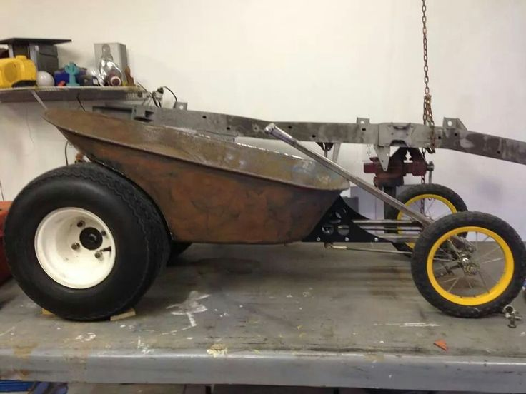 Wheel Barrow cruiser for kids.