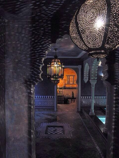 Beautiful Hammam. http://moroccan-hammam.com