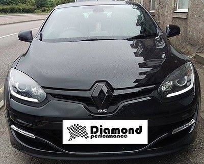 Renault megane 3, facelift #2013+ gloss #black front badge emblem #cover., View more on the LINK: http://www.zeppy.io/product/gb/2/161958257453/