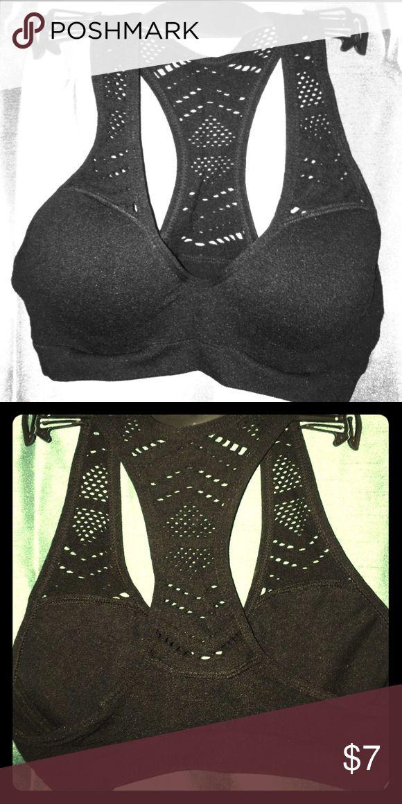 NEW racer back bra NEW racer back bra. Has plenty of stretch. 90% nylon 10% spandex. Intimates & Sleepwear Bras