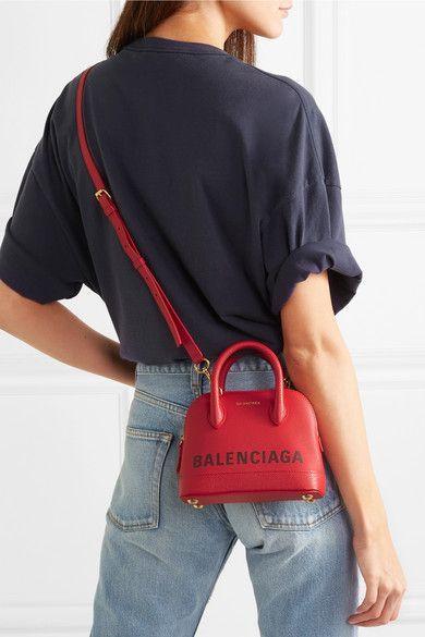 3409830ce750e8 Ville Xxs Aj Printed Textured-leather Tote | Shopping List in 2019 |  Balenciaga bag, Fashion bags, Bags