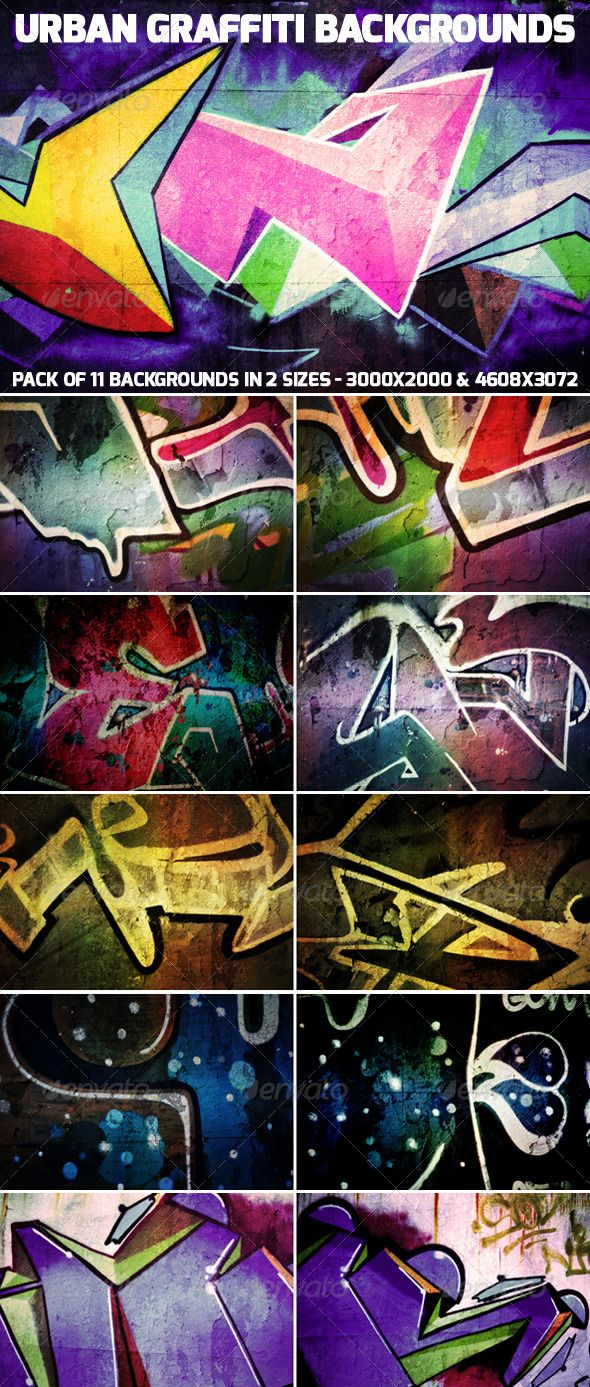 17 Best images about Urban Graffiti Backgrounds Collection ...