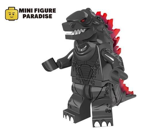 GODZILLA FIGURE MINI Building Blocks PLAY WITH LEGOS USA SELLER NEW IN PACKAGE