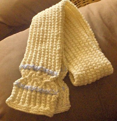Free Knitting Patterns Scarves Pinterest : crossed-stitch scarf by MelissaCarolyn Free Knitting Patterns (Scarves) P...