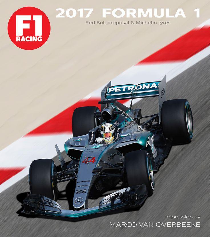 2017 Formula 1 regulations - F1 Mercedes W08 concept