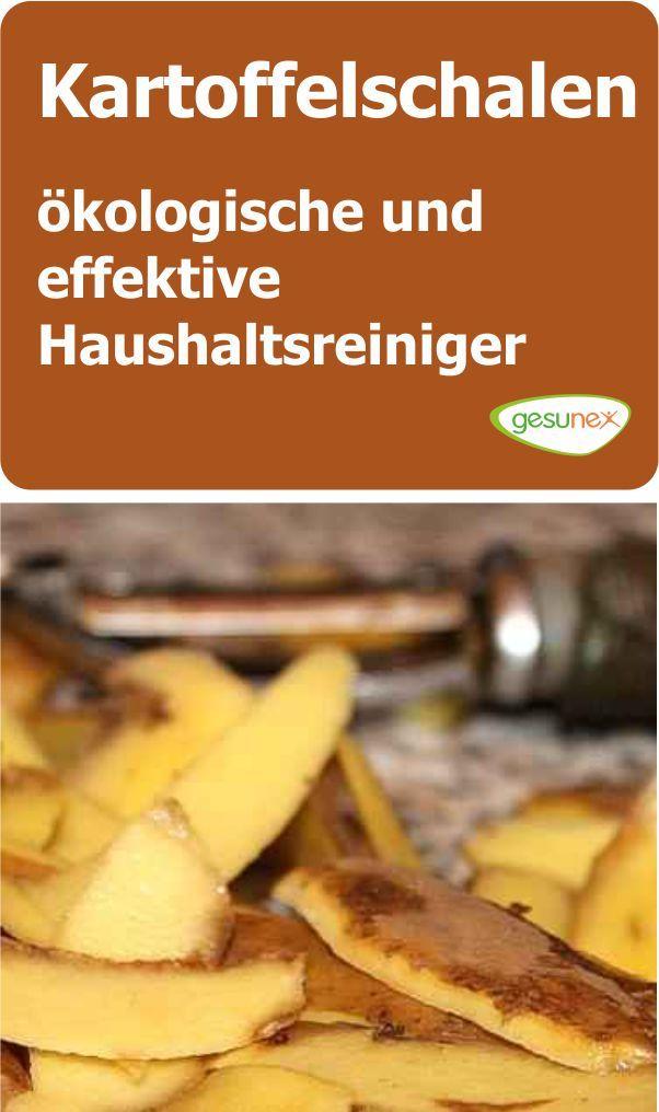 Kartoffelschalen   ökologische Und Effektive Haushaltsreiniger
