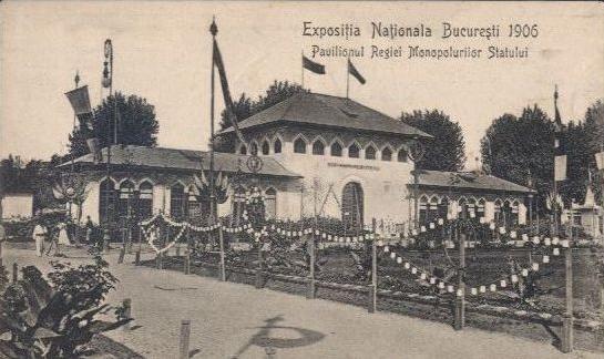 Bucuresti - Expozitia nationala 1906 - Regia Monopolurilor de stat