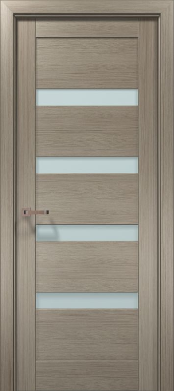 The OPTIMA is a contemporary Pre finished internal door and frame with cutting-edge design in the Internal Door Range. This door features a stylish design and great build quality at the best possible prices. The door framework - MDF. Glass- Satin glass. The covering - finish-film Touchline with 3-D CHIYODA effect. Door Set Kit Includes: Door Panel (thickness: 40mm) Door Frame Door Stop 2 Sets of Architraves We offer various Frame Breadths (Door frame extension relate to wall thickness) just… Home Door Design, Wooden Main Door Design, Bedroom Door Design, Door Design Interior, Contemporary Interior Doors, Doors And Floors, 3 D, Wood Glass Door, Wall Panel Design