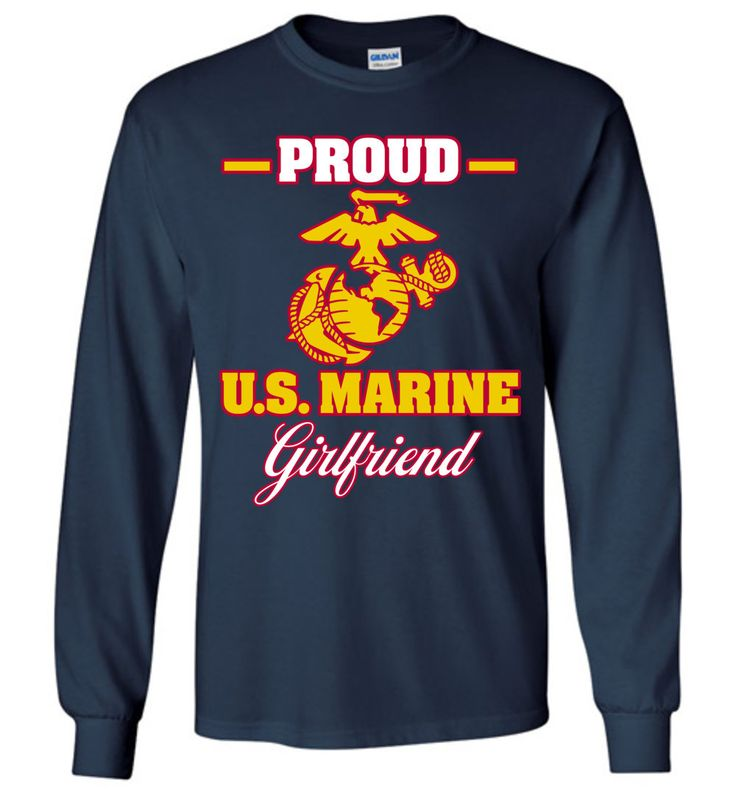 Show your pride with this exclusive DV8s.com design featuring the United States Marine Corps insignia. This long-sleeved tee makes a wonderful gift for Marine Corps girlfriends with a boyfriend servin