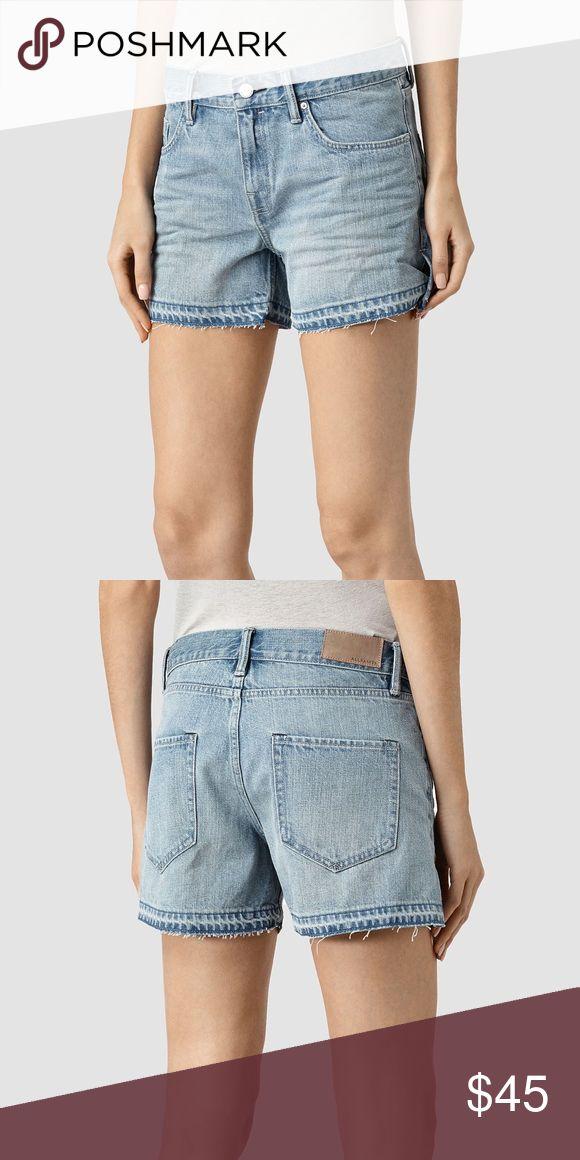 NWOT Allsaints Denim Shorts NWOT Allsaints Denim Shorts All Saints Shorts Jean Shorts