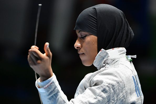 """Since your election, I have been 'profiled' at the airport, accused of looking 'suspicious' and, on the streets of New York, I have been told to 'go back to my country.'""  - Ibtihaj Muhammad American Olympic medalist"