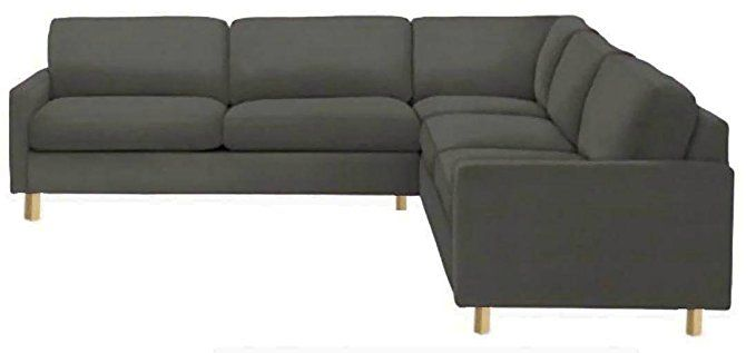 Easy Fit The Heavy Duty Cotton Karlstad Corner Sofa Cover 2 3 3 2 Replacement Is Custom Made For Ikea Kar Corner Sofa Covers Sectional Slipcover Sofa Covers