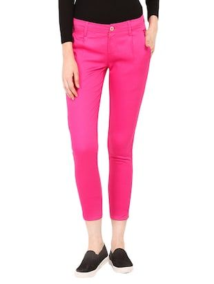 Check out what I found on the LimeRoad Shopping App! You'll love the Pink Cotton Chinos Trouser. See it here http://www.limeroad.com/products/13733742?utm_source=10570b8bd1&utm_medium=android